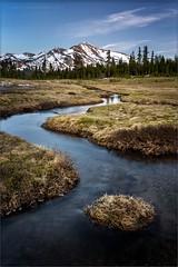 Dana Meadows Postcard (TomGrubbe) Tags: california mountain creek landscape stream yosemite snowmelt easternsierras danameadows mamothpeak