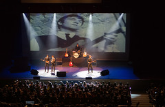 Covering The Beatles (Arimm) Tags: show concert audience guitar stage group band cover beatles tribute venue act the arimm