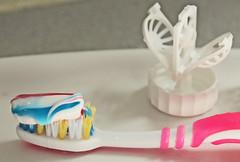 Stripey toothpaste (christina.marsh25) Tags: stripes toothpaste toothbrush