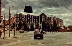 Liverpool (Nechator) Tags: city uk walter sky film analog scan mochi viaggio regnounito analogica citt inghilterra ricoh500g postprocessing pellicola nechator