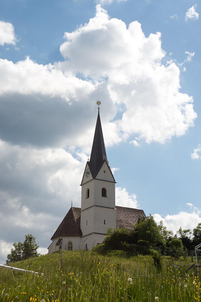 фото: Filialkirche Sankt Anna am Zackel in Reifnitz, Austria