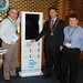 Showtel Tony Gillen & Tommy McStay, Smart Media Solutions SMS and Stephen McNally, IHF President