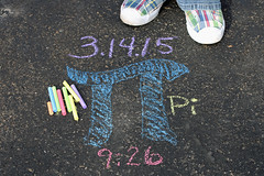 72/365 Pi: Pie/Math/Equation (Rhadonda1) Tags: chalk pi math