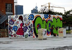 E = Mc2 (Mr Baggins) Tags: streetart graffiti quest newtown johannesburg jozi ladyaiko sonynex6