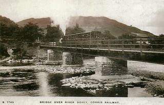 Corris Railway - Bridge over River Dovey