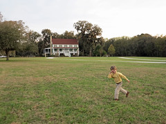 Running around Red Bluff (babyfella2007) Tags: county boy red woman dog house jason tree tower shirt architecture river magazine garden carson hotel living oak gun jasper child live grant low country young michelle disney southern coastal hollywood plantation taylor terror studios mgm fetch polo bluff lowcountry