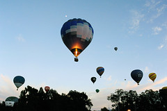 Balloons Away (BrianRope) Tags: festival australia event canberra hotairballoons act balloonfestival
