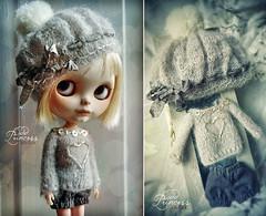 BLYTHE Set SILVER DEW By Odd Princess Atelier