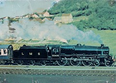 com pos D.217 Collectors item no. 25 Class 5MT (robsue888) Tags: train postcard rail railway 70s 1970s 1977 dateapproximate