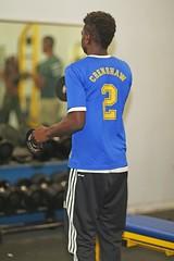 D121601A (RobHelfman) Tags: sports losangeles track highschool practice crenshaw matthewlove