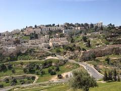 Valley west of Old City Jeruzalem (Israël 2015)