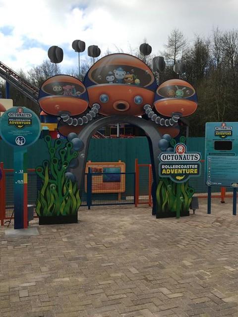 Octonauts Rollercoaster Adventure - Entrance
