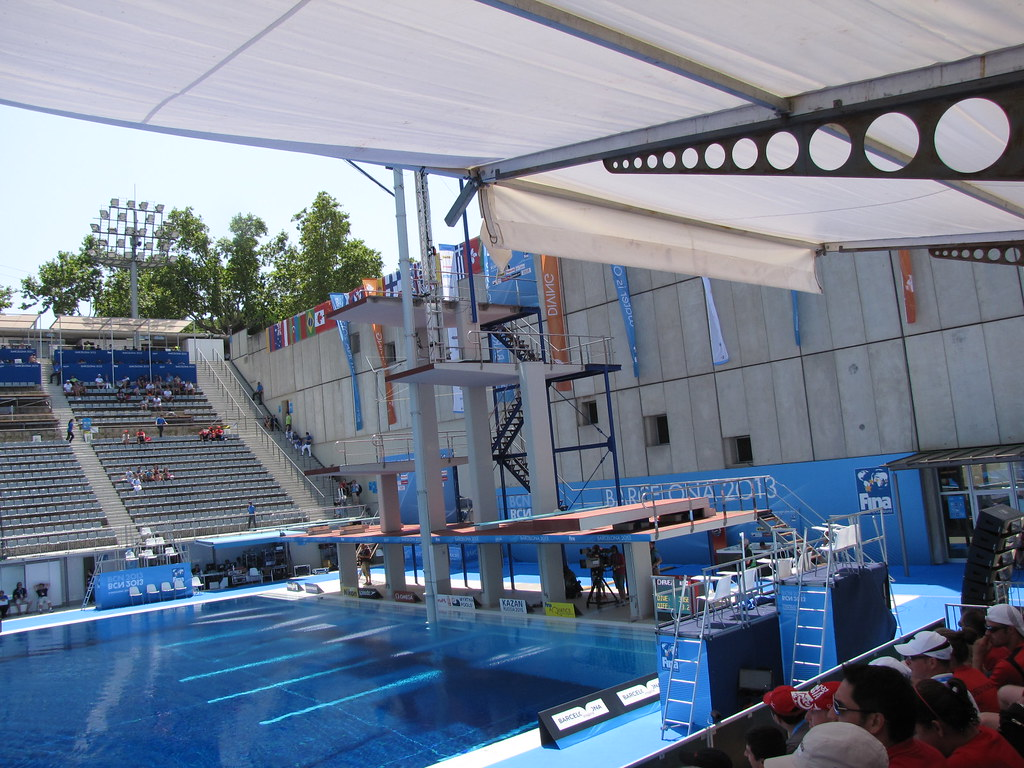 The world 39 s best photos of hautvol and plongeon flickr for Piscine olympique