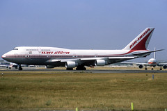 Air India B747-437 VT-ESM LHR 12/08/1995 (jordi757) Tags: london heathrow airplanes boeing 747 lhr b747 airindia avions egll b747400 vtesm