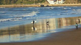 Surfers en Ereaga