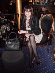 Post Production (Starrynowhere) Tags: outside glasses legs tights crossdressing tgirl transgender tranny transvestite transgendered pantyhose crossdresser crossdress nylons inpublic transvestism crossdressed dressedasagirl starrynowhere wearingwomensclothes emmaballantyne