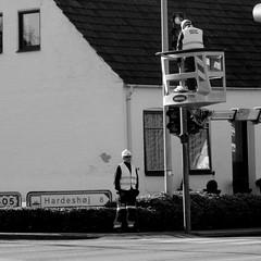 At work (Landanna) Tags: bw white black zwart wit atwork sort hvid zw parbejde aanhetwerk