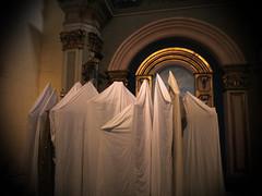 good friday (maximorgana) Tags: church gold golden arch ghost santamaria sheet cartagena