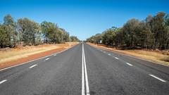 Outback Queensland-Charleville (josselin.berger) Tags: road trees bush dry queensland outback miles charleville reddirt australiaaustralian