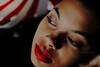 Brigida (sam_silva88) Tags: red woman female dark lost darkness goth redlips sadeyes gothicculture emotiomal