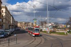 150405_Brno_306 (Rainer Spath) Tags: trolley tram tschechischerepublik brno czechrepublic trams tramway südmähren brünn českárepublika strasenbahn šalina dpmb jihomoravskýkraj dopravnípodnikměstabrna republiktschechien