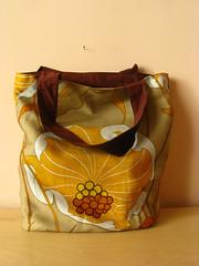 Sac fleurs art nouveau (Kero Kero Craft) Tags: cabas