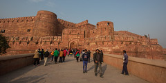 J77A0290 -- The Red Fort in Agra, in India (Nils Axel Braathen) Tags: india canon asia agra redfort canoneos5dmarkiii
