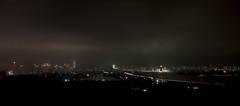 Pyongyang la nuit depuis l'htel Sosan (jonathanung@ymail.com) Tags: night lumix hotel asia korea panoramic asie nuit vue kp nord northkorea panoramique pyongyang core dprk cm1 koryo sosan coredunord insidenorthkorea rpubliquepopulairedmocratiquedecore rpdc lumixcm1