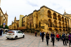 La Mezquita de Crdoba - the Great Mosque-Cathedral - Southwest corner (peripathetic) Tags: building architecture canon buildings spain cathedral catedral mosque worldheritagesite espana moorish mezquita 5d crdoba 2016 mezquit 5dmkiii 5dmk3 canoneos5dmk3