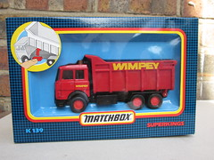 Matchbox Superkings Wimpey Iveco Tipper Truck 1980's (beetle2001cybergreen) Tags: truck tipper 1980s matchbox superkings iveco wimpey