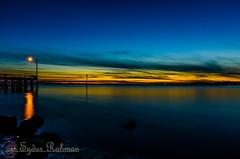 Sunset on Crescent beach (Syd Rahman) Tags: sunset beach crescentbeach today followme