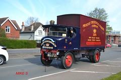 Sentinel 'Crown Steam Haulage Co' reg PG 2414 (erfmike51) Tags: sentinel steamwagon hcvslondontobrightonrun2016 crownsteamhaulageco