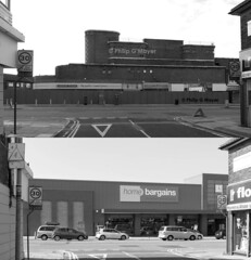 Spot the difference. (philipgmayer) Tags: curzon cinema oldswan liverpool 1936 demolished aeshennan 1000