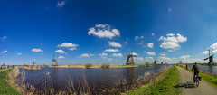 P4100199-Pano-Edit (Baffalowz) Tags: netherlands windmill spring europe nederland olympus kinderdijk windmolen em1 2016