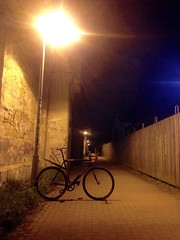 Night's watch (Bleu.Russe) Tags: hannover singlespeed fixie fixedgear trackbike nightride