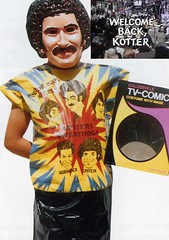 Welcome Back Kotter Halloween Costume (1970's) (Jonathon Jones) Tags: halloween television toys nostalgia 1970s ebook collectibles halloweencostumes welcomebackkotter oldtoys vintagetoys ebooks kindle