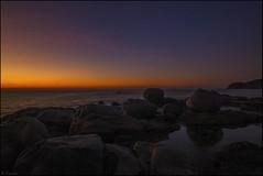 Rojo amanecer (antoniocamero21) Tags: costa color marina mar agua foto sony paisaje girona amanecer cielo catalunya brava calella palafrugell