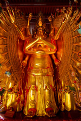 Thousand Hands Thousand Eyes (jbilohaku) Tags: canada vancouver temple bc buddha buddhist richmond yvr buda templo canad budista kanado