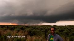 (keltonhalbert) Tags: sunset portrait sky storm oklahoma field weather self great thunderstorm woodward plains tornado plain thunder chasing prarie severe thunderstorms stormchasing tornadoes