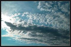 Jaszczur na niebie (Renata_Lipiska) Tags: sky cloud clouds image outdoor picture poland polska bleu niebieski blanc obraz chmury niebo chmura saurian biay firmament obrazek jaszczur photoborder renatalipiska