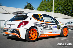 Peugeot 207 S2000 - Steve FERNANDES / Olivier BECK (nans_even) Tags: auto france cars mobile race beck rally steve voiture racing national cote chassis rallyes extrieur antibes peugeot olivier 62 s2000 rallye azur voitures 207 rallying dazur fernandes 2016 championnat vhicule xx0207