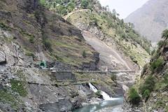 Hydro power station on Ravi (Rupak Sarkar and Uma Sarkar) Tags: ravi himachal himalayas bharmour iravati