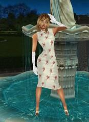 17 (SoakinJo) Tags: highheels wetlook wetclothes imvu wetdress extremeheels
