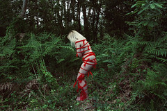 Red: 8/28. (SaraiDeza) Tags: red woman art nature nude photography photo fineart creative conceptual menstruation creativephotography conceptualphotography