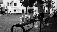 Boule and beer (martinpmayer) Tags: people bw beer sport mono bier bodensee radtour boule weizen