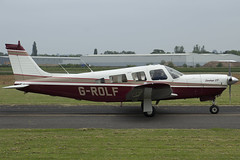29/05/16 - Piper PA-32R-301 (Saratoga SP) - G-ROLF (gbadger1) Tags: saratoga may pa sp r piper 32 airfield matters 301 2016 wellesbourne mountford egbw grolf