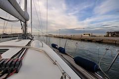 01 . USCITA DAL PORTO (GRAZIE PER LA VISITA) Tags: harbor nikon barca italia rimini porto romagna uscita sigma1020 nikond90
