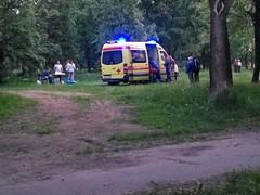 IMG_20160528_210656 (Бесплатный фотобанк) Tags: парк скораямедицинскаяпомощь скораяпомощь шашлык россия москва
