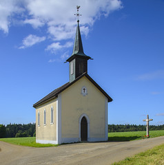 Switzerland La Bosse Little Country Chapel (charles.duroux) Tags: nyip