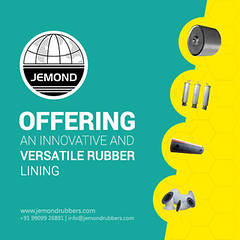 Rubber Lining Service - Jemond Rubbers (jemondrubbers) Tags: rubber lining service process lagging pulley industries tanks rollers pipes vessel chemical
